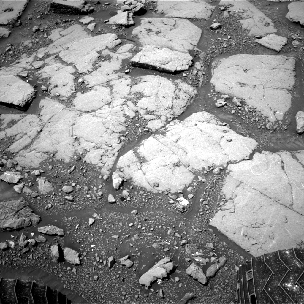 Nasa's Mars rover Curiosity acquired this image using its Right Navigation Camera on Sol 2044, at drive 1138, site number 70