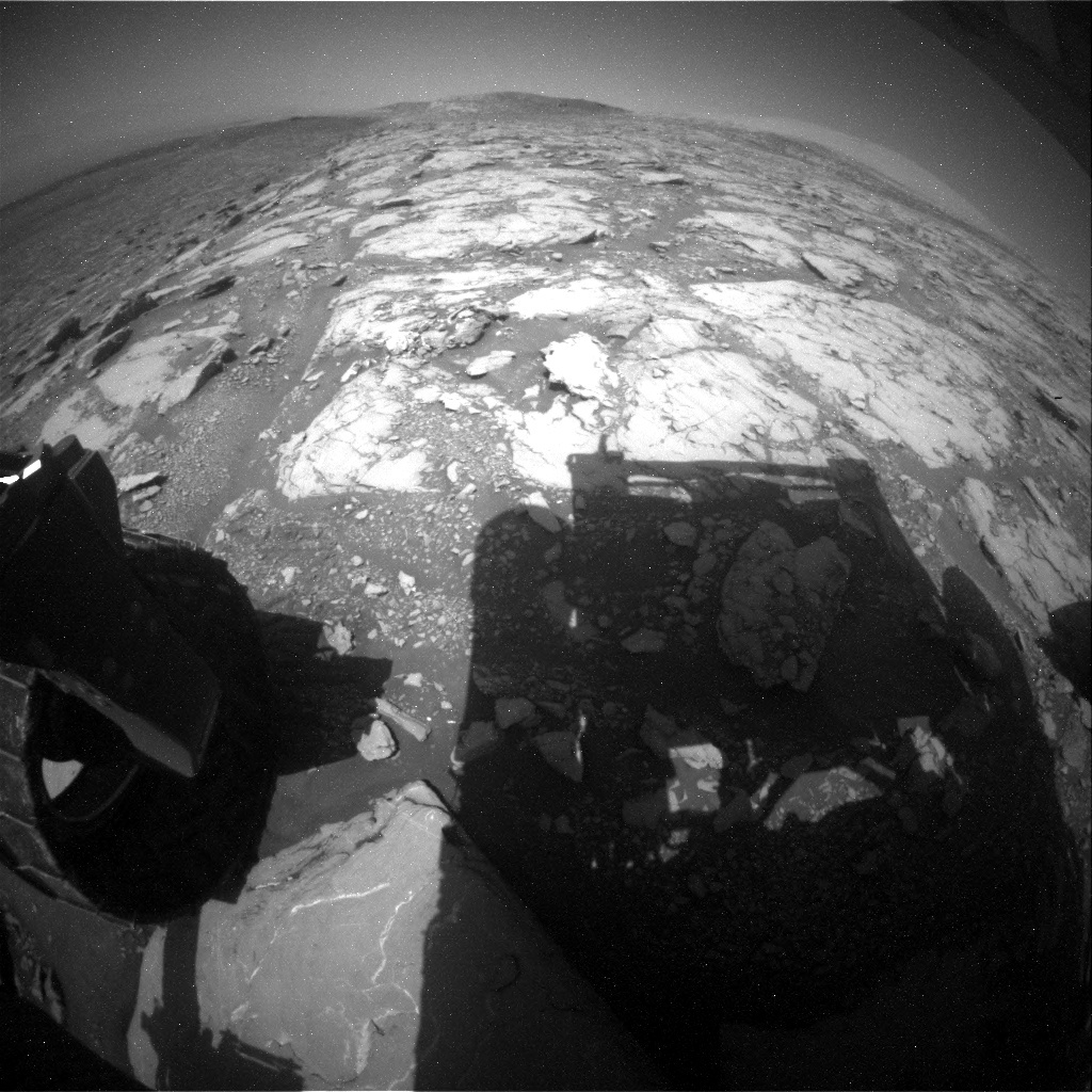 NASA's Mars rover Curiosity acquired this image using its Rear Hazard Avoidance Cameras (Rear Hazcams) on Sol 2044