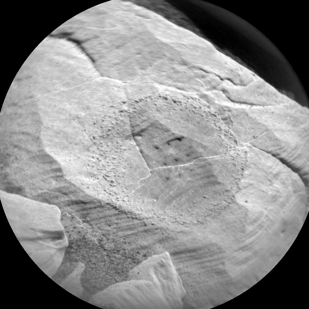 Nasa's Mars rover Curiosity acquired this image using its Chemistry & Camera (ChemCam) on Sol 2044, at drive 1138, site number 70