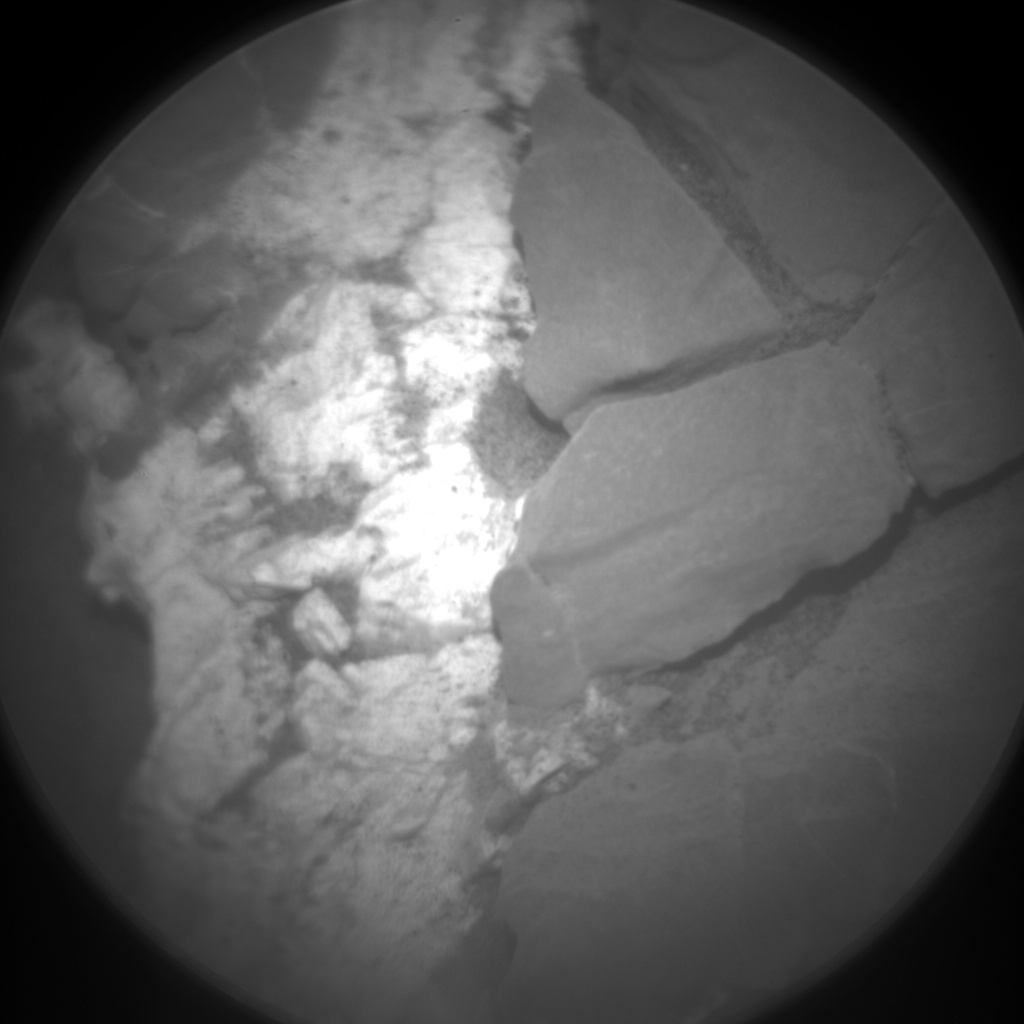 Nasa's Mars rover Curiosity acquired this image using its Chemistry & Camera (ChemCam) on Sol 2045, at drive 1138, site number 70