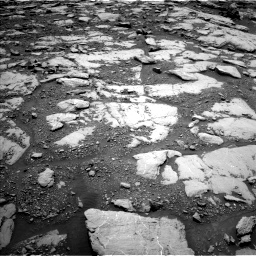 Nasa's Mars rover Curiosity acquired this image using its Left Navigation Camera on Sol 2045, at drive 1216, site number 70