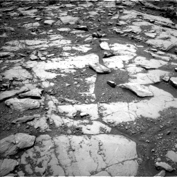 Nasa's Mars rover Curiosity acquired this image using its Left Navigation Camera on Sol 2045, at drive 1228, site number 70