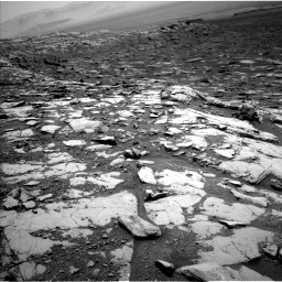 Nasa's Mars rover Curiosity acquired this image using its Left Navigation Camera on Sol 2045, at drive 1234, site number 70