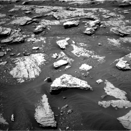 Nasa's Mars rover Curiosity acquired this image using its Left Navigation Camera on Sol 2045, at drive 1312, site number 70