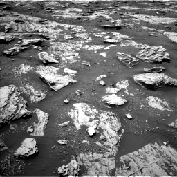 Nasa's Mars rover Curiosity acquired this image using its Left Navigation Camera on Sol 2045, at drive 1336, site number 70