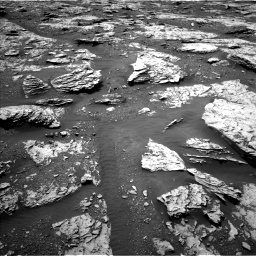 Nasa's Mars rover Curiosity acquired this image using its Left Navigation Camera on Sol 2045, at drive 1360, site number 70