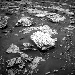 Nasa's Mars rover Curiosity acquired this image using its Left Navigation Camera on Sol 2045, at drive 1366, site number 70