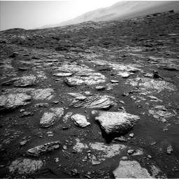 Nasa's Mars rover Curiosity acquired this image using its Left Navigation Camera on Sol 2045, at drive 1408, site number 70