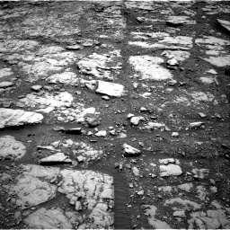 Nasa's Mars rover Curiosity acquired this image using its Right Navigation Camera on Sol 2045, at drive 1156, site number 70
