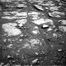 Nasa's Mars rover Curiosity acquired this image using its Right Navigation Camera on Sol 2045, at drive 1180, site number 70