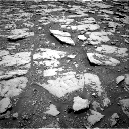Nasa's Mars rover Curiosity acquired this image using its Right Navigation Camera on Sol 2045, at drive 1192, site number 70