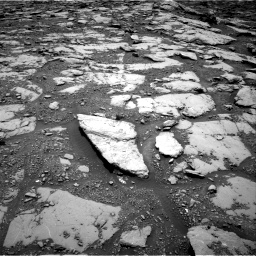 Nasa's Mars rover Curiosity acquired this image using its Right Navigation Camera on Sol 2045, at drive 1204, site number 70