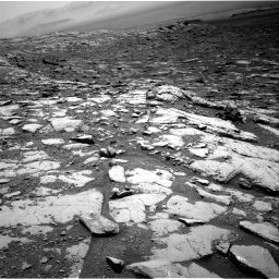 Nasa's Mars rover Curiosity acquired this image using its Right Navigation Camera on Sol 2045, at drive 1234, site number 70