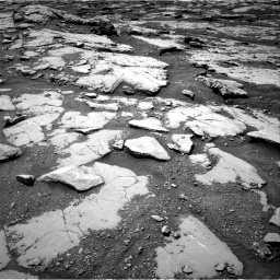 Nasa's Mars rover Curiosity acquired this image using its Right Navigation Camera on Sol 2045, at drive 1246, site number 70