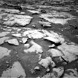 Nasa's Mars rover Curiosity acquired this image using its Right Navigation Camera on Sol 2045, at drive 1252, site number 70