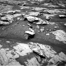 Nasa's Mars rover Curiosity acquired this image using its Right Navigation Camera on Sol 2045, at drive 1288, site number 70