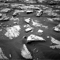 Nasa's Mars rover Curiosity acquired this image using its Right Navigation Camera on Sol 2045, at drive 1300, site number 70