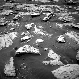 Nasa's Mars rover Curiosity acquired this image using its Right Navigation Camera on Sol 2045, at drive 1312, site number 70