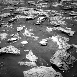 Nasa's Mars rover Curiosity acquired this image using its Right Navigation Camera on Sol 2045, at drive 1318, site number 70