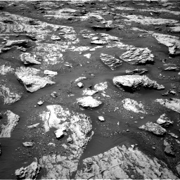 Nasa's Mars rover Curiosity acquired this image using its Right Navigation Camera on Sol 2045, at drive 1336, site number 70