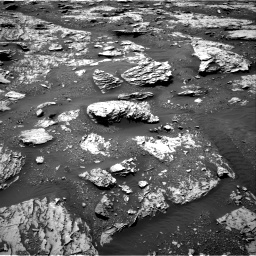 Nasa's Mars rover Curiosity acquired this image using its Right Navigation Camera on Sol 2045, at drive 1348, site number 70