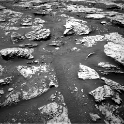 Nasa's Mars rover Curiosity acquired this image using its Right Navigation Camera on Sol 2045, at drive 1354, site number 70