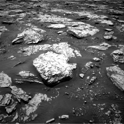 Nasa's Mars rover Curiosity acquired this image using its Right Navigation Camera on Sol 2045, at drive 1366, site number 70