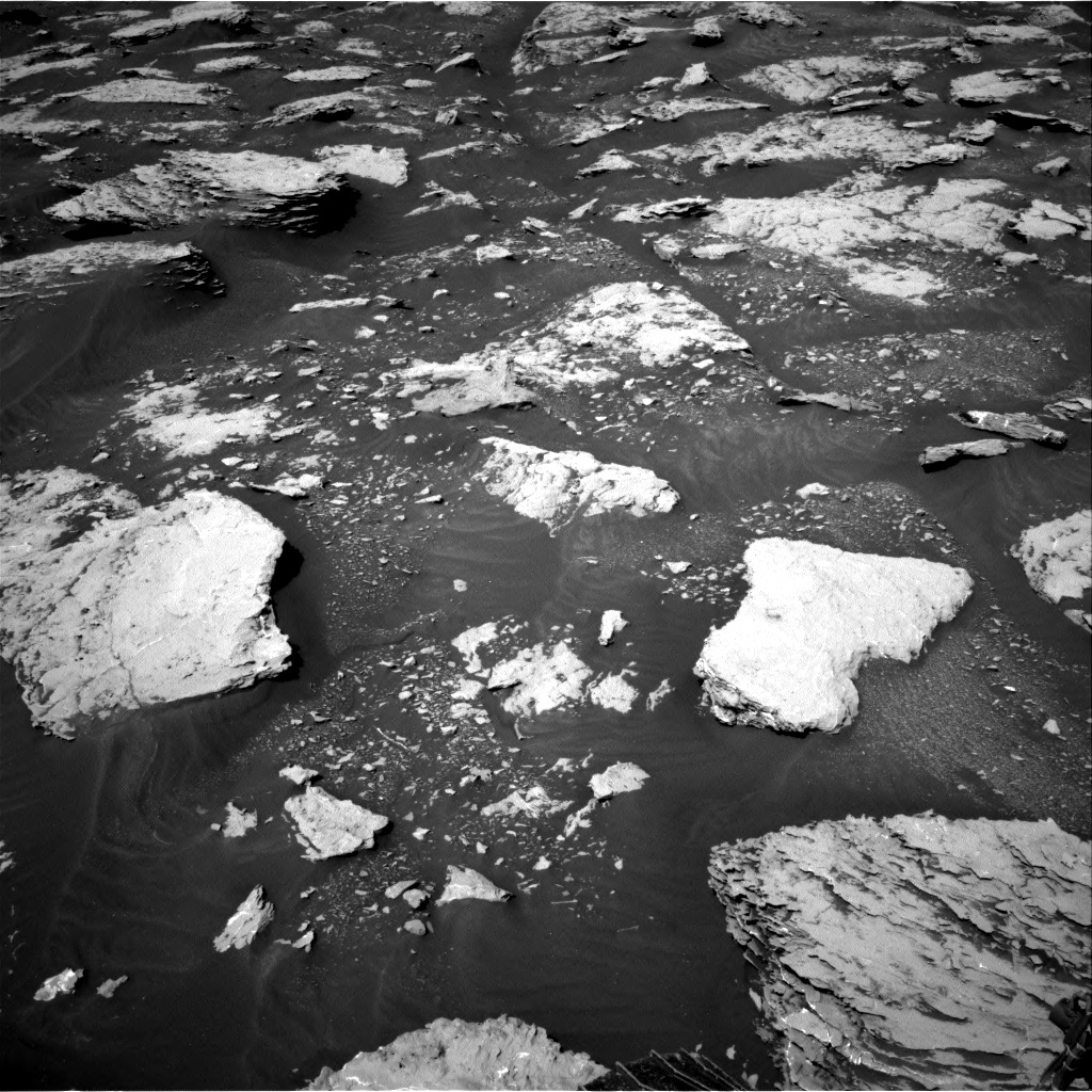Nasa's Mars rover Curiosity acquired this image using its Right Navigation Camera on Sol 2045, at drive 1378, site number 70