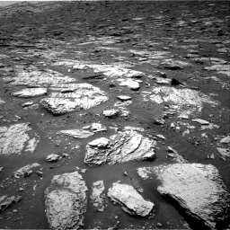 Nasa's Mars rover Curiosity acquired this image using its Right Navigation Camera on Sol 2045, at drive 1390, site number 70