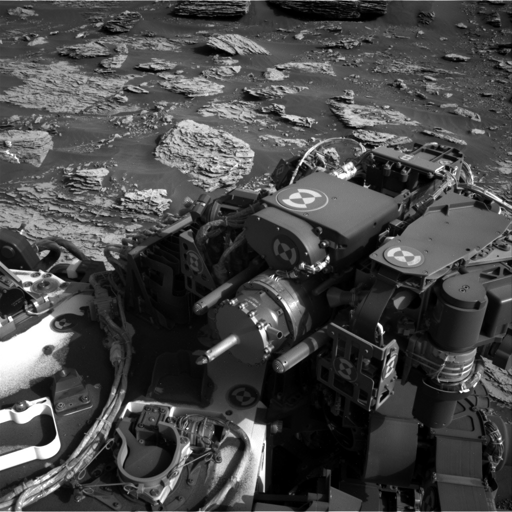 Nasa's Mars rover Curiosity acquired this image using its Right Navigation Camera on Sol 2045, at drive 1430, site number 70