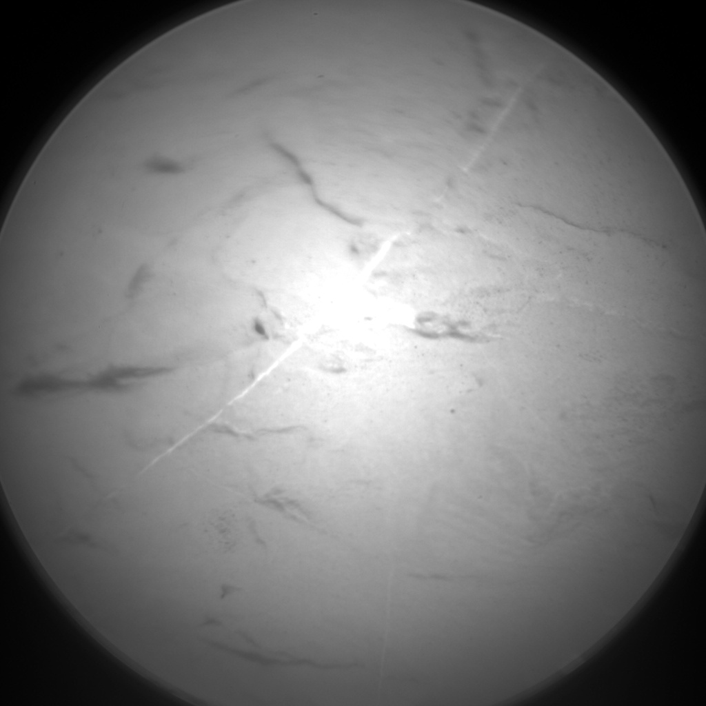 Nasa's Mars rover Curiosity acquired this image using its Chemistry & Camera (ChemCam) on Sol 2046, at drive 1430, site number 70