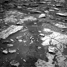 Nasa's Mars rover Curiosity acquired this image using its Left Navigation Camera on Sol 2047, at drive 1472, site number 70