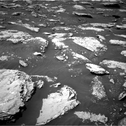 Nasa's Mars rover Curiosity acquired this image using its Right Navigation Camera on Sol 2047, at drive 1442, site number 70