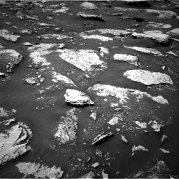 Nasa's Mars rover Curiosity acquired this image using its Right Navigation Camera on Sol 2047, at drive 1448, site number 70