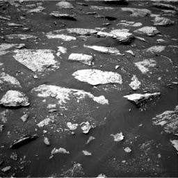Nasa's Mars rover Curiosity acquired this image using its Right Navigation Camera on Sol 2047, at drive 1454, site number 70
