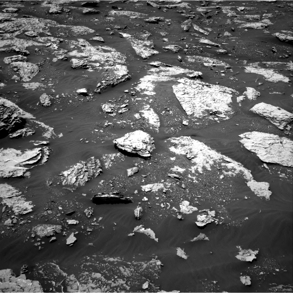 Nasa's Mars rover Curiosity acquired this image using its Right Navigation Camera on Sol 2047, at drive 1460, site number 70