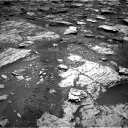 Nasa's Mars rover Curiosity acquired this image using its Right Navigation Camera on Sol 2047, at drive 1472, site number 70