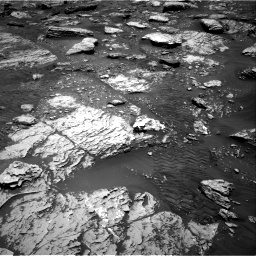 Nasa's Mars rover Curiosity acquired this image using its Right Navigation Camera on Sol 2047, at drive 1478, site number 70