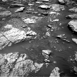 Nasa's Mars rover Curiosity acquired this image using its Right Navigation Camera on Sol 2047, at drive 1484, site number 70