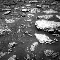 Nasa's Mars rover Curiosity acquired this image using its Right Navigation Camera on Sol 2047, at drive 1490, site number 70