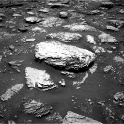 Nasa's Mars rover Curiosity acquired this image using its Right Navigation Camera on Sol 2047, at drive 1496, site number 70