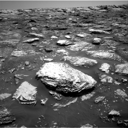 Nasa's Mars rover Curiosity acquired this image using its Right Navigation Camera on Sol 2047, at drive 1508, site number 70