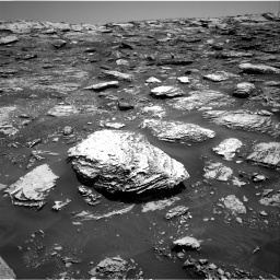 Nasa's Mars rover Curiosity acquired this image using its Right Navigation Camera on Sol 2047, at drive 1514, site number 70