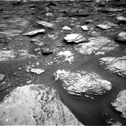 Nasa's Mars rover Curiosity acquired this image using its Right Navigation Camera on Sol 2047, at drive 1532, site number 70