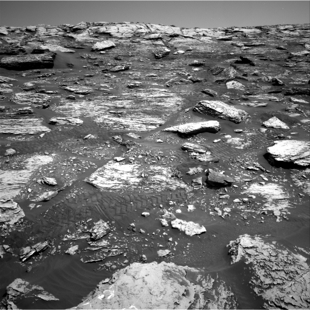 Nasa's Mars rover Curiosity acquired this image using its Right Navigation Camera on Sol 2047, at drive 1538, site number 70