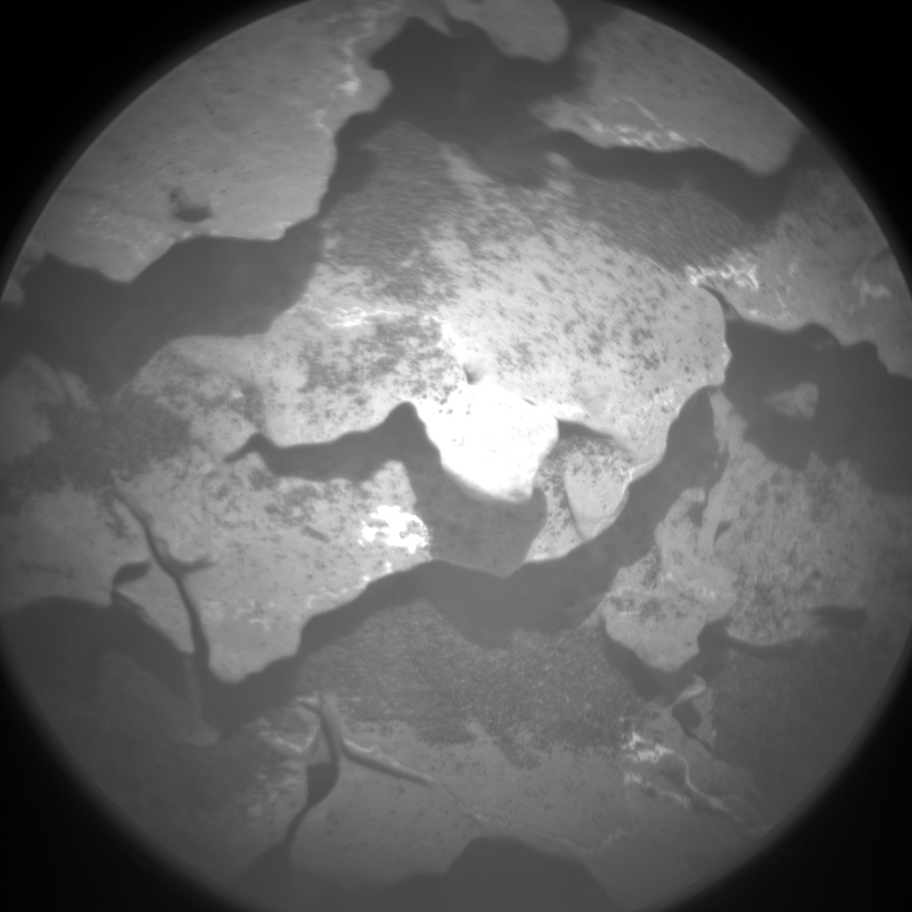Nasa's Mars rover Curiosity acquired this image using its Chemistry & Camera (ChemCam) on Sol 2048, at drive 1538, site number 70