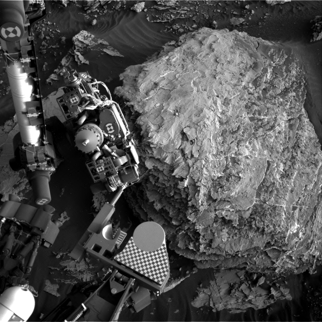 Nasa's Mars rover Curiosity acquired this image using its Right Navigation Camera on Sol 2049, at drive 1538, site number 70
