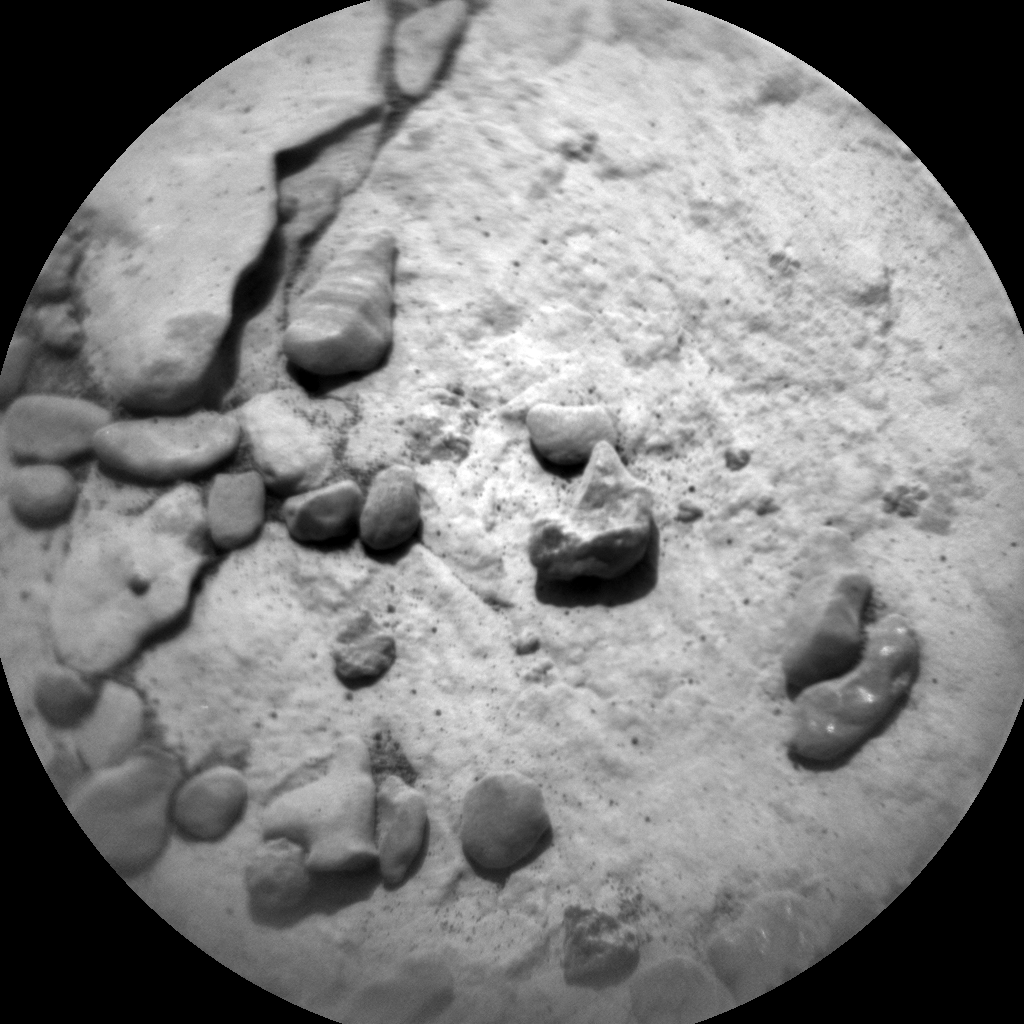 Nasa's Mars rover Curiosity acquired this image using its Chemistry & Camera (ChemCam) on Sol 2050, at drive 1538, site number 70