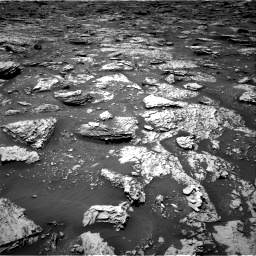 Nasa's Mars rover Curiosity acquired this image using its Right Navigation Camera on Sol 2051, at drive 1538, site number 70