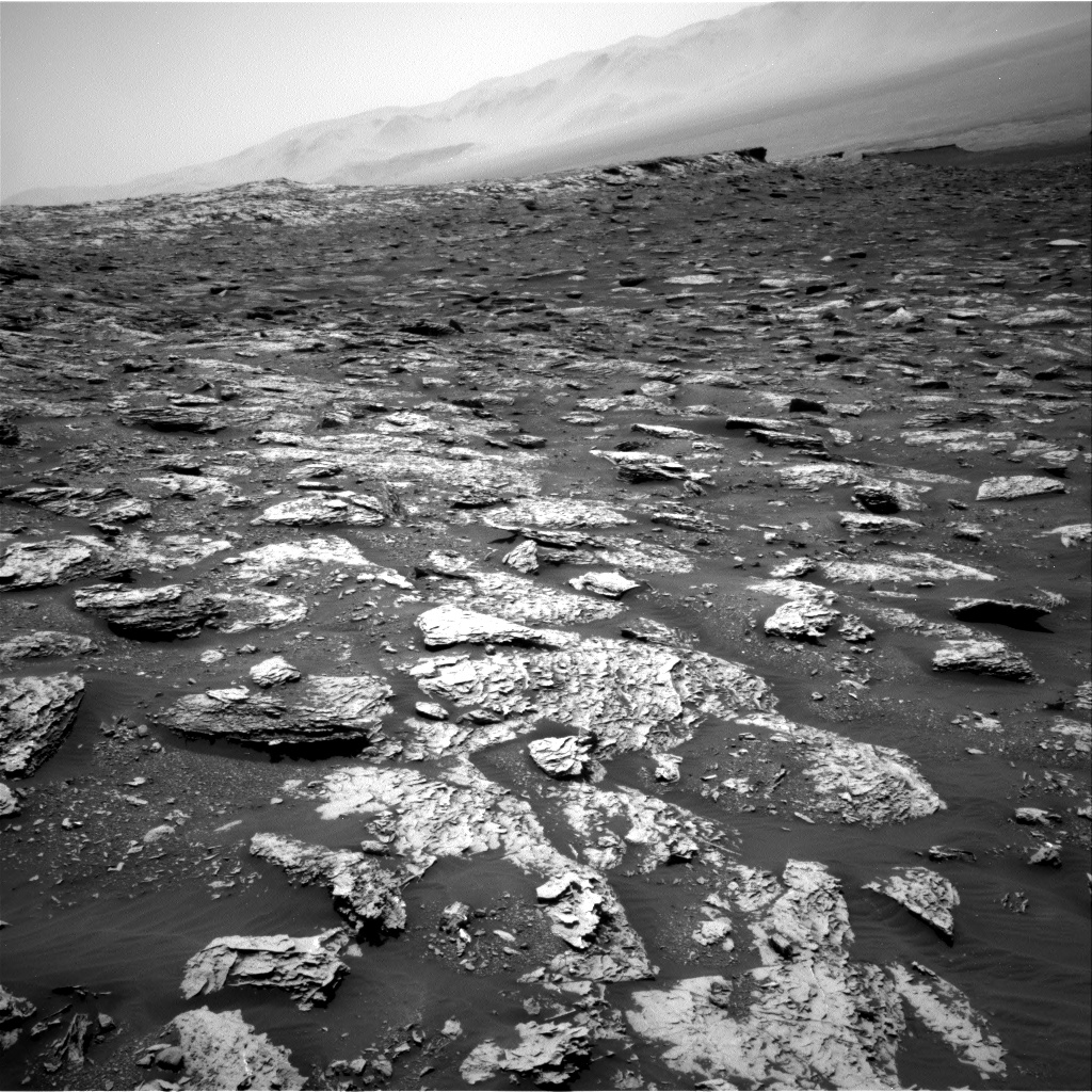 Nasa's Mars rover Curiosity acquired this image using its Right Navigation Camera on Sol 2051, at drive 1554, site number 70